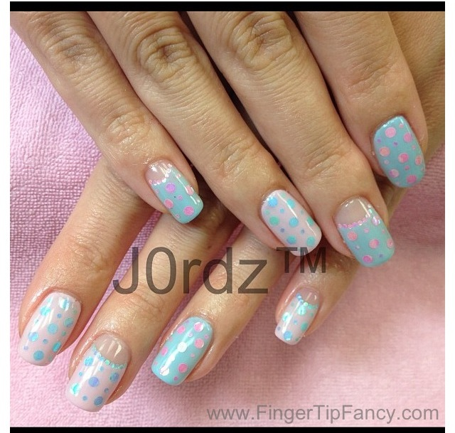 Baby Shower Nails J0rdz Fingertip Fancy